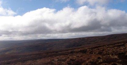 Moors above Gunnerside Gill