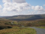 The Stang - descent into Arkengarthdale