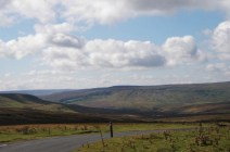 The Stang - looking down toward Arkengarthdale