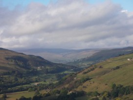 Swaledale from the Fleak