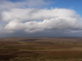bowes moor from tan hill
