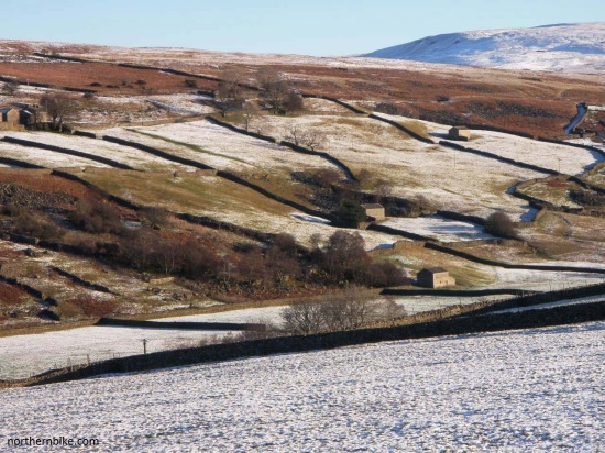 arkengarthdale barns on road to tan hill