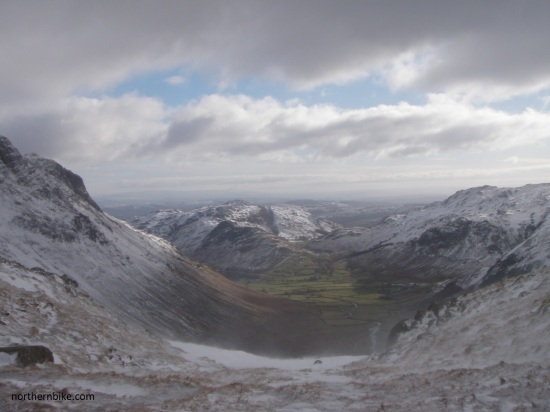 mickleden and great langdale from rossett crag