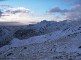 langdale fells, cumbria