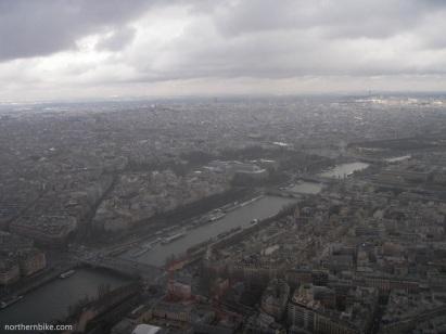 paris - tour Eiffel - la seine