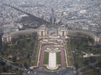 paris - tour Eiffel - trocadéro