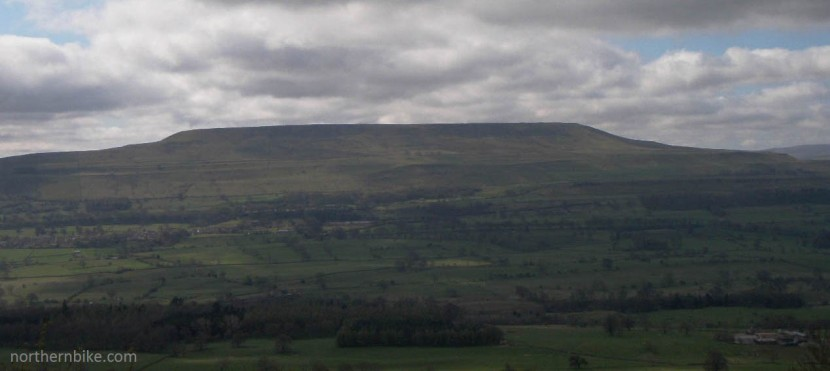 Pen Hill from Scarf Nick, Wensleydale, Yorkshire