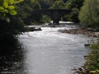 Richmond Bridge & River Swale, Richmond, Yorkshire