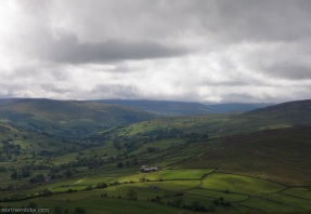 Swaledale and Arkengarthdale from Fremington Edge