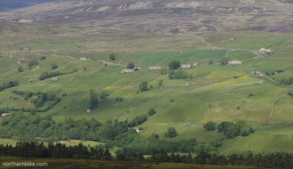 Swaledale from Harkerside Moor