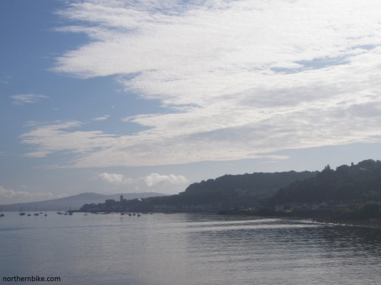 Gourock from the Dunoon ferry