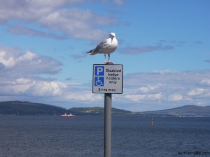 Seafront car park, Dunoon