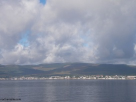 Dunoon from the Gourock ferry