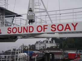 Gourock to Dunoon ferry 'Sound of Soay'