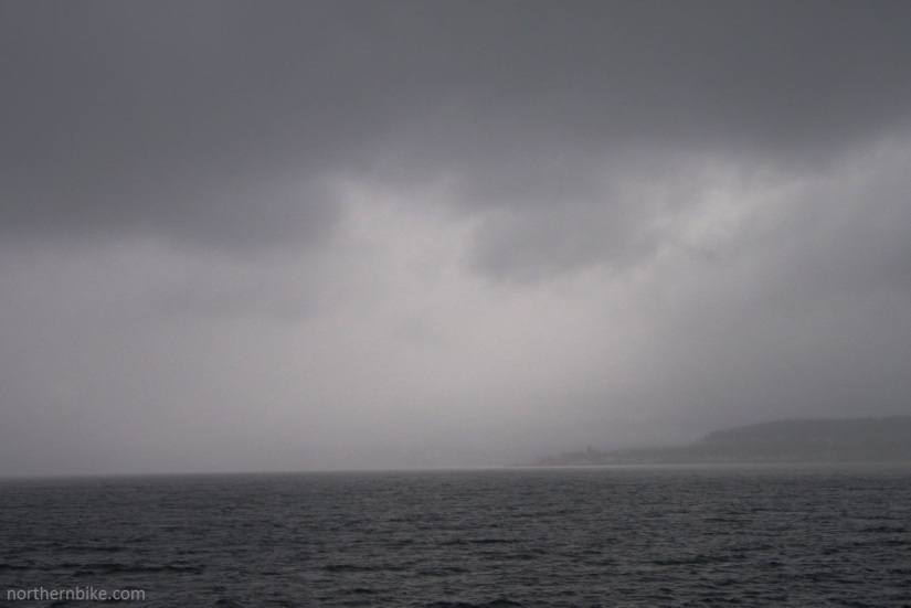 Firth of Clyde from the Dunoon ferry