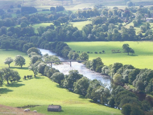 The River Tees near Mickleton