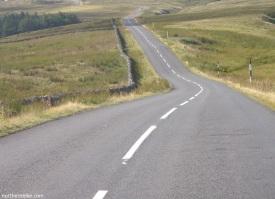 road up Chapel Fell on the Weardale (St Johns Chapel) side