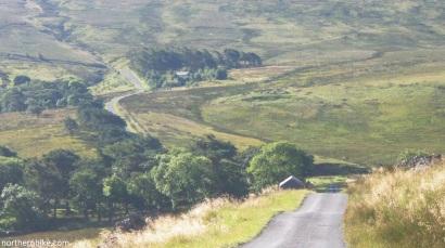 Road to Swinhope Head, Weardale, County Durham