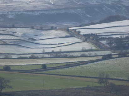 hillside above Swaledale