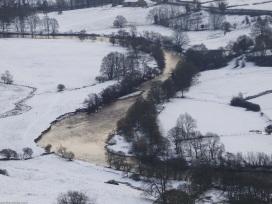 River Swale from near Willance's Leap, Richmond, Yorkshire