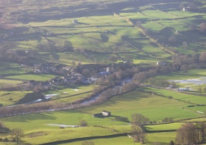 Grinton, Swaledale, Yorkshire from Fremington Edge