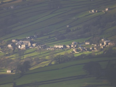 Healaugh, Swaledale, Yorkshire from Fremington Edge