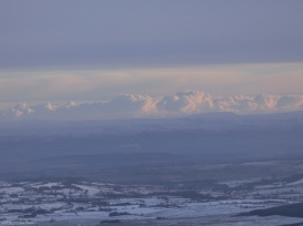 The Pennines from Blencathra, Cumbria, England