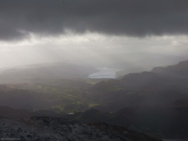 Coniston Water from Fairfield