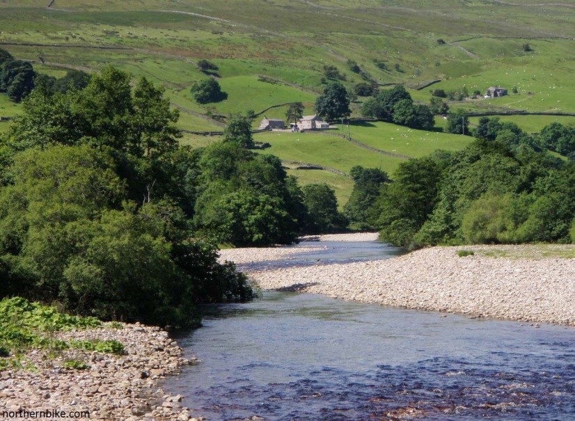 River Swale from Isles Bridge, Swaledale