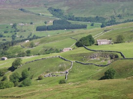 Swaledale from below Oxnop Scar