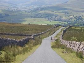 The road between Askrigg and Reeth over The Fleak, Wensleydale