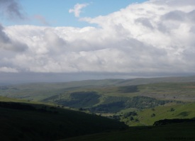 Wharfedale from above Park Rash