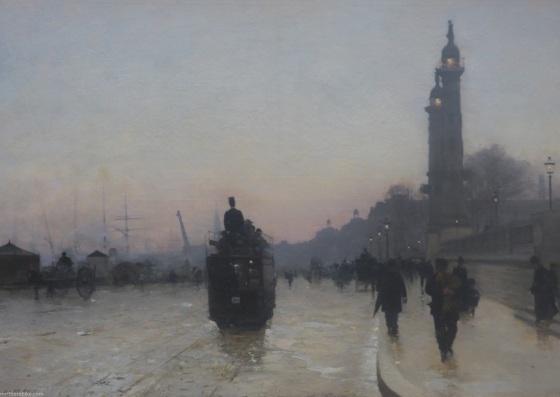 Alfred Smith 'Les Quais de Bordeaux'